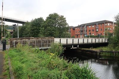 Swing bridge at Old Kilpatrick