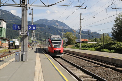 4024 094 is the move back to Kitzbuhel having exhausted the delights of St Johann