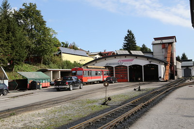 Achensee Steam Cog Railway at Jenbach