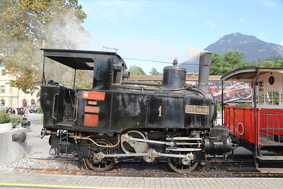 Achensee Steam Cog Railway at Jenbach - 1 Theodor