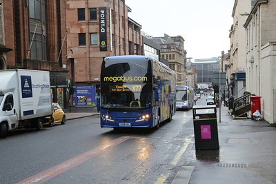 54603 YX68UAL heads for Ayr