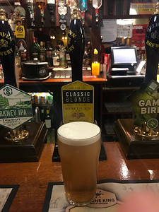 Westgate Brewery Wakefield Classic Blonde 3.9% at Cavens Arms Dumfries