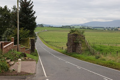 South of Carnwath on the Strathaven line from Strawfrank Junction