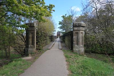 Spey Viaduct looking east