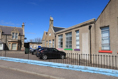 Portgordon Primary School where my mother started her teaching career