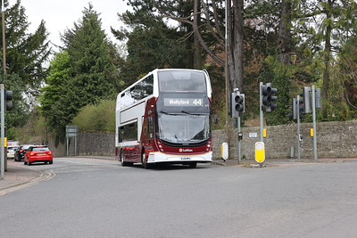 609 joins A70 Lanark Road West at Bridge Road 14th May 2021. Thanks to driver for the wave!