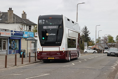 610 inbound on A70 Currie shops 14th May 2021
