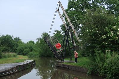 Llangollen Canal Lift Bridge 33