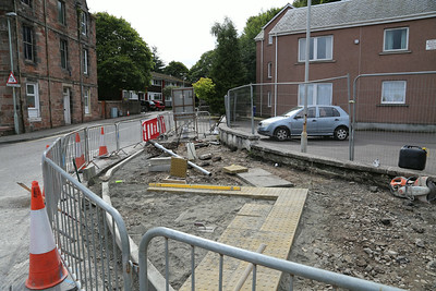 Millburn Road shared use cycleway being provided as part of the Inverness Campus project