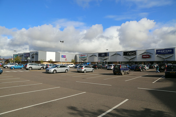 Springfield Retail Park, Elgin as extended and refurbished