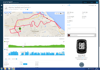 Three Lothian depots - nothing to report.  Snaps - nil.   Decent calorie burn.  Soaked.  Twice.   No jacket.....