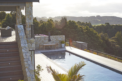 Terraces and pool - image Matt Queree