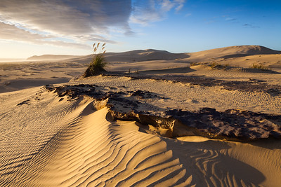 Ironstone & sand dunes, Te Paki Recreation Reserve, Northland