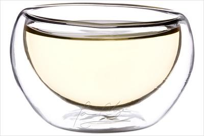 Tai Wan Cui Yu Wu Long - Nefritový oolong. Oolong tea in glass