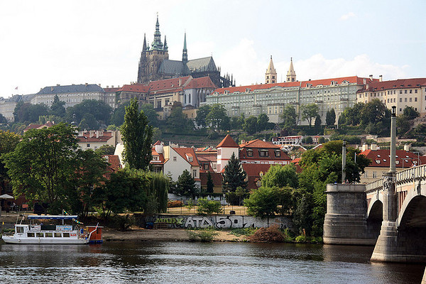 This is a travel photo from the Czech Republic related to teaching English (ESL) overseas.