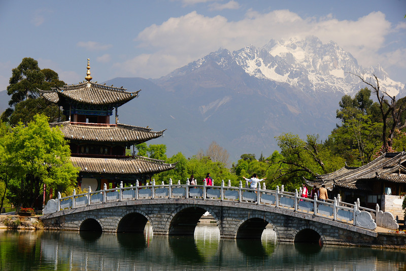 Gorgeous scenery from Lijiang, China.