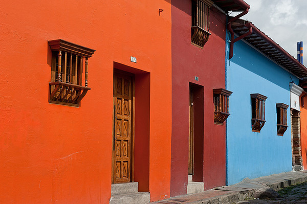 This is a travel photo from Colombia related to teaching English (ESL) overseas.