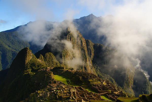 This is a travel photo from Peru related to teaching English (ESL) overseas.