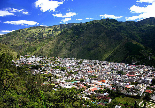 This is a travel photo from Ecuador related to teaching English (ESL) overseas.