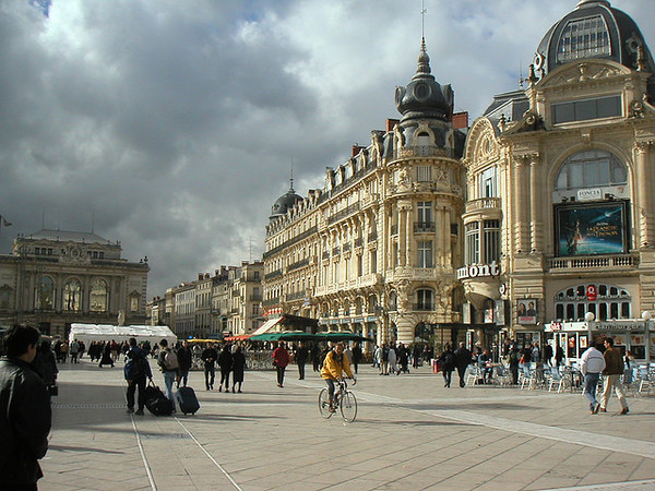 This is a travel photo from France related to teaching English (ESL) overseas.