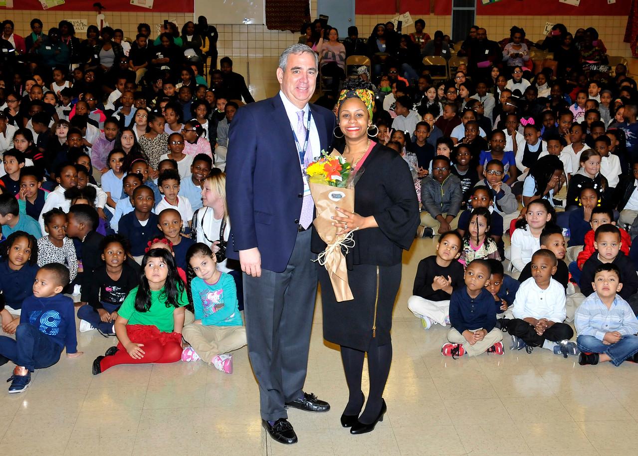 Cherryll Clacks, Triple E Teacher, Van Bokkelen Elementary School