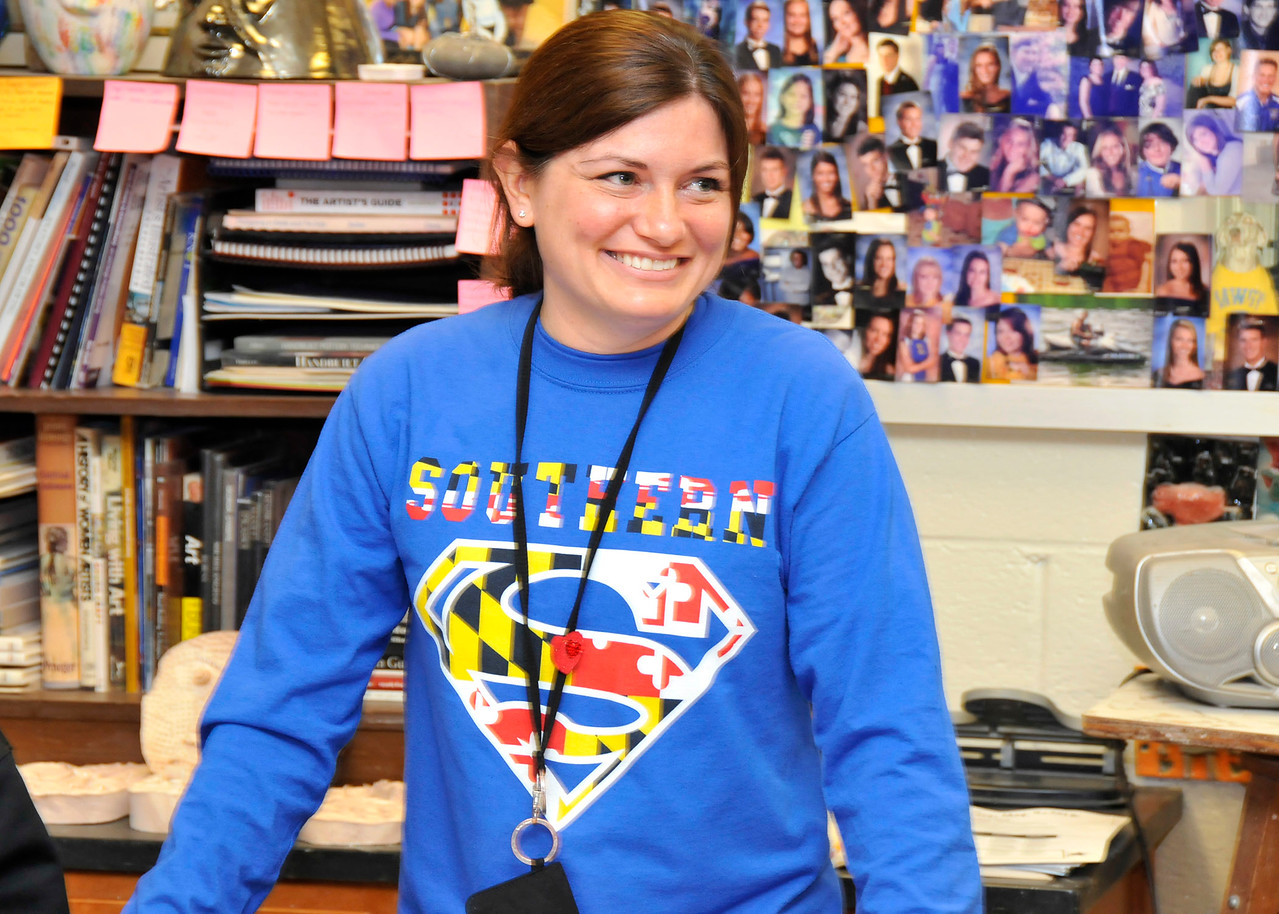 Marlene Kramer, Art Teacher, Southern High School