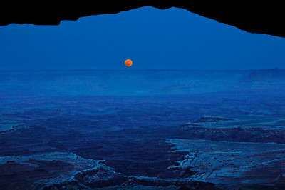 Moonrise, Canyonlands