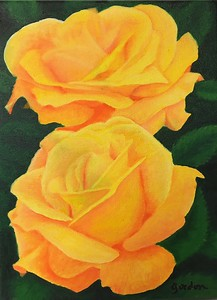 Another of Gordon's wonderful Rose paintings