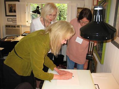 Invitational Studio visit for Colored Pencil Artists