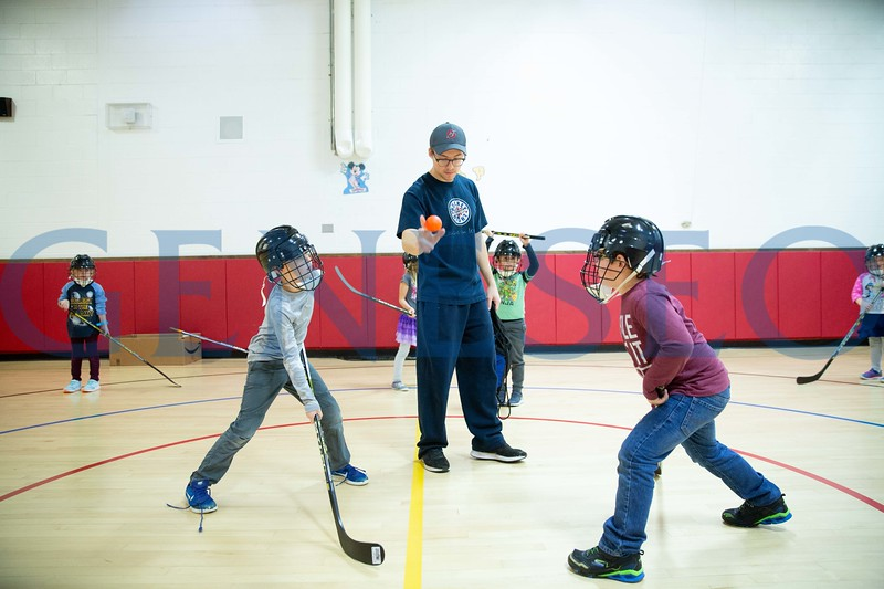Stephen Mott (Senior) The Deck Hockey Leadership Club. In an effort to address the limited availability of youth recreation activities in Livingston County,