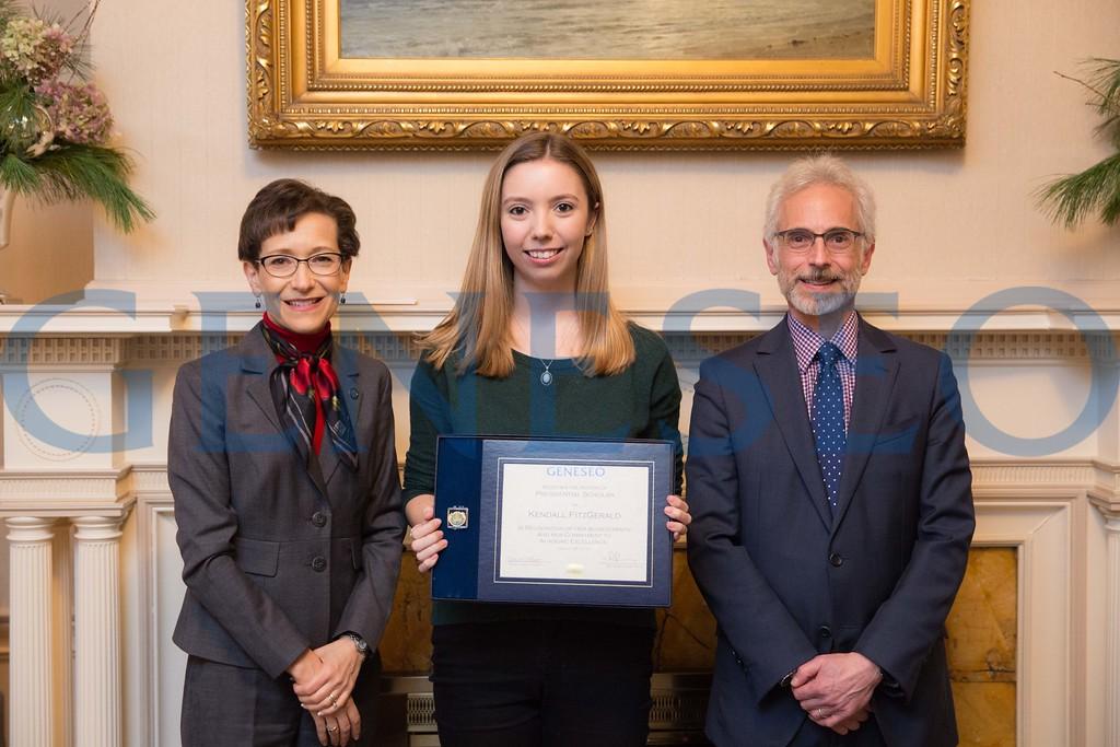 2016 Presidential Scholars Reception Kendall Fitzgerald