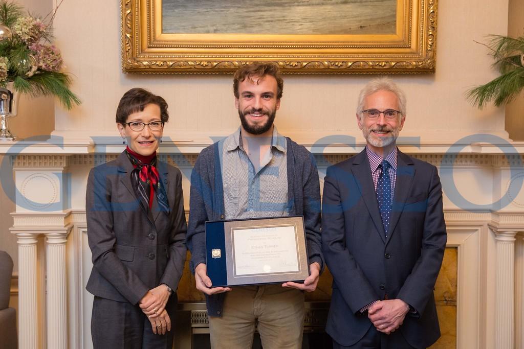 2016 Presidential Scholars Reception Ethan Turner