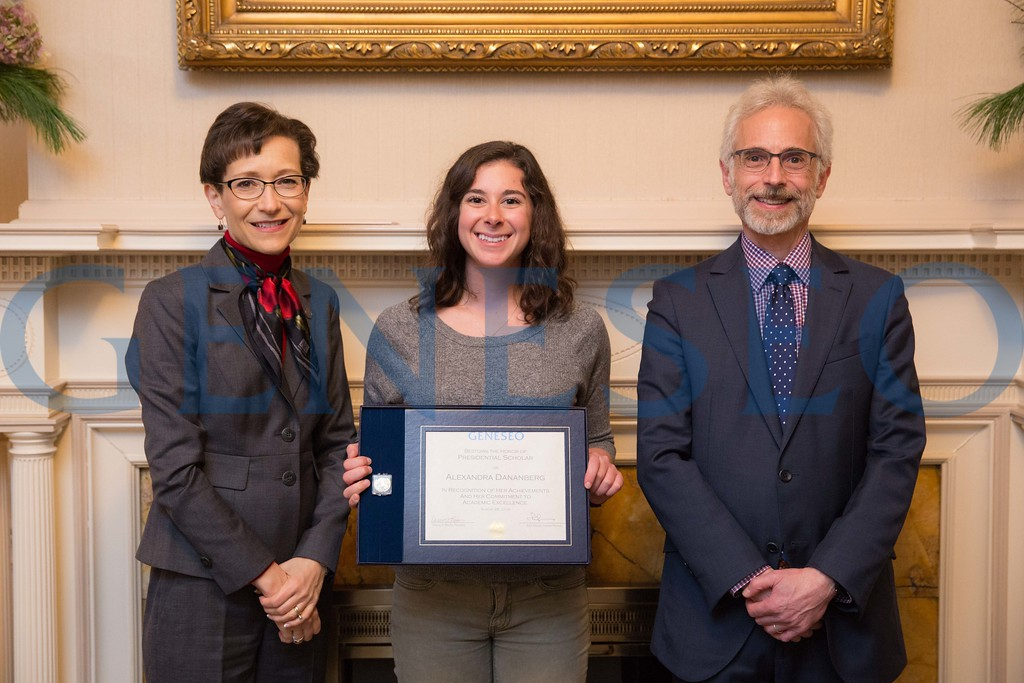 2016 Presidential Scholars Reception Alexandra Dananberg