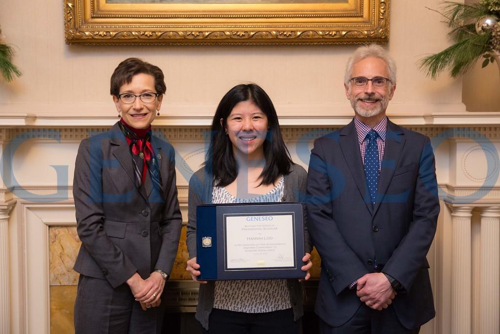 2016 Presidential Scholars Reception Hannah Loo