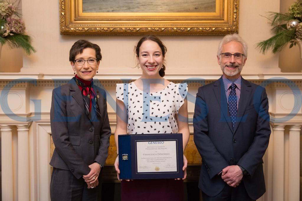 2016 Presidential Scholars Reception Francesca DiGiorgio