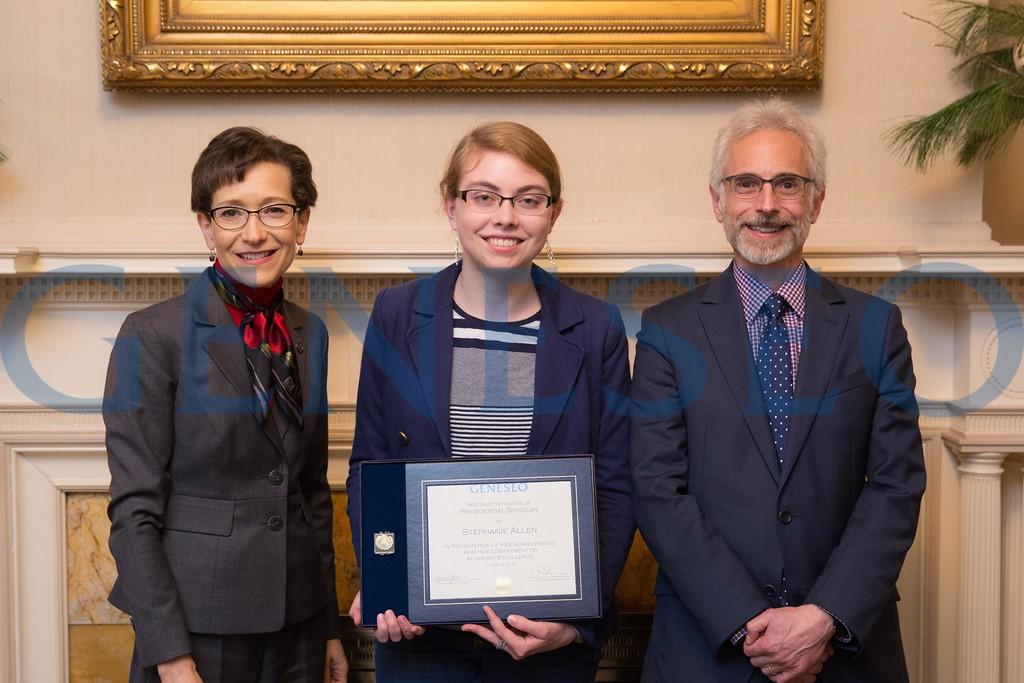 2016 Presidential Scholars Reception Stephanie Allen