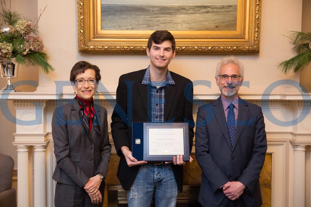 2016 Presidential Scholars Reception Darrell Getman