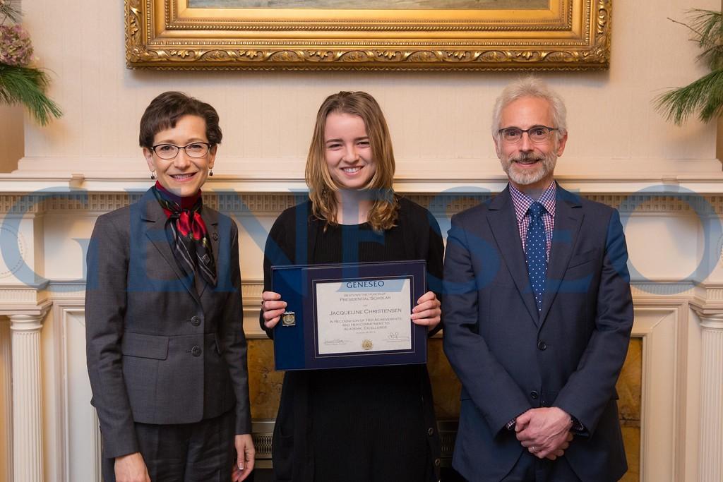 2016 Presidential Scholars Reception Jacqueline Jackie Christensen