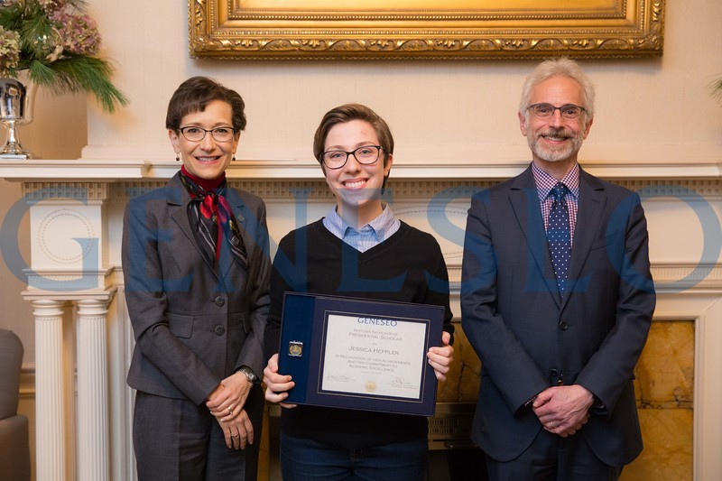 2016 Presidential Scholars Reception Jessica Heppler
