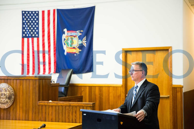 Tim Hayes, Geneseo central school district superintendent