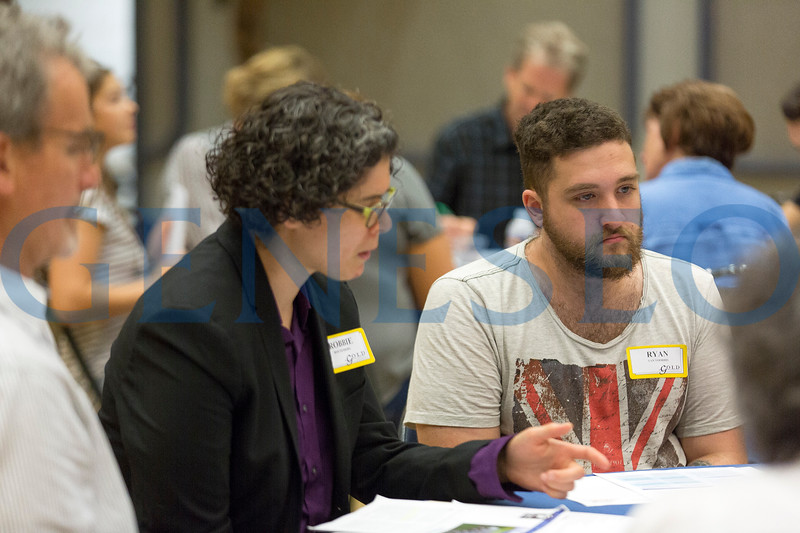 Fall 2017 Deliberative Dialogue Discussion Photos by Annalee Bainnson