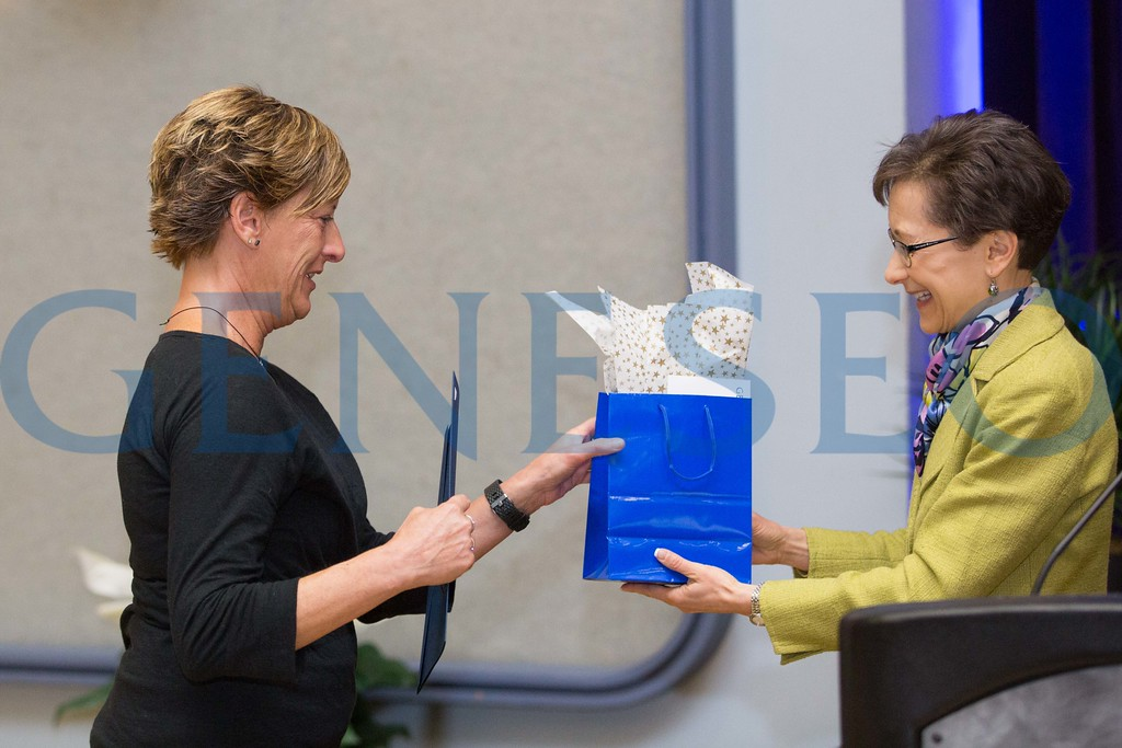 Julie Wolfer and Denise Battles