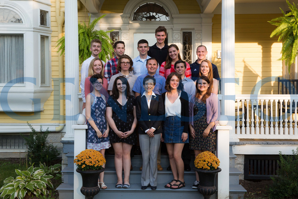 Presidential Scholars Reception at the President's Residence KW