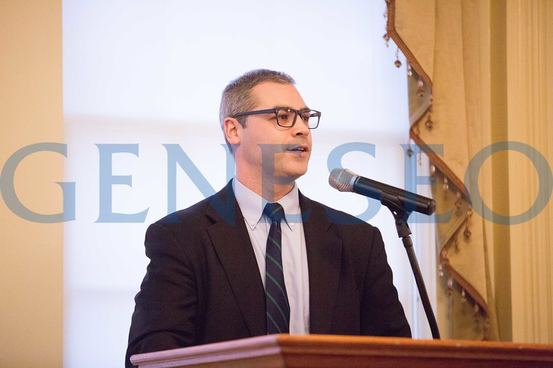 2017 Volunteer and Service Awards Dinner George J. Sullivan '07