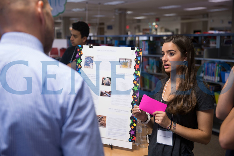 AOP Summer Research Poster Session. Photos by Ben Gajewski
