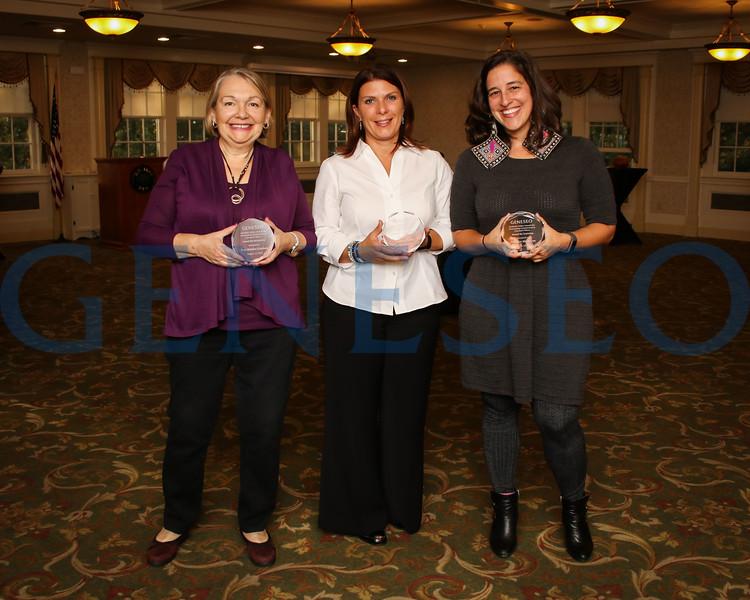 Left to right: Irene Belyakov-Goodman, Andrea Klein, Melanie Melanie Medeiros