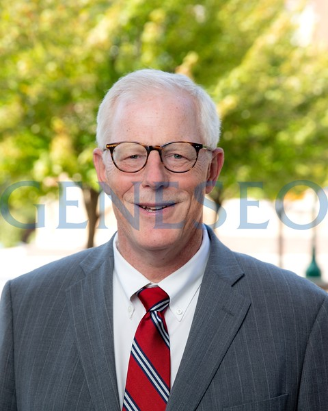 Fall 2018 Stephen (Steve) Storck, Ph.D. interim vice president for finance and administration portrait KW