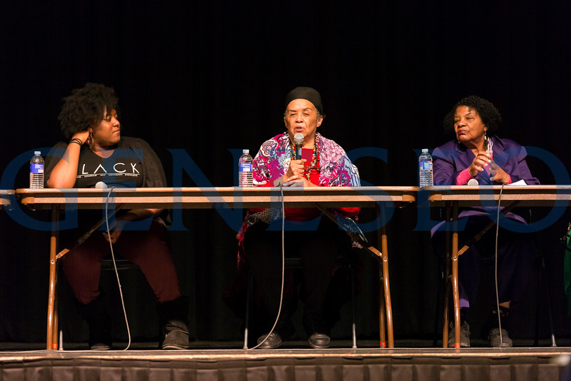 Geneseo's Black Studies program invites you to attend a panel on Black Lives Matter on Oct. 25, 4pm in the College Union Ballroom. The panel will be an intergenerational conversation on 50+ years of struggle, including 1960s Civil Rights Movement activists and contemporary activists in the broad Movement for Black Lives. <br /> <br /> Black Lives Matter: An Intergenerational Conversation on Fifty+ Years of Struggle<br /> Oct. 25, 2016, 4pm College Union Ballroom
