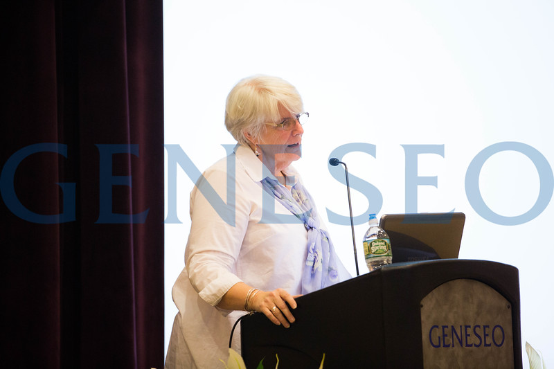 """All-College Hour Lecture Series Presents *The Last Lecture at SUNY Geneseo*<br /> *""""Navigating by Landmarks:  Words and People that have Illuminated my Path""""*<br /> *featuring Elizabeth Falk, School of Education and class of 1973*"""