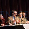 Justin Behrend speaks at the  panel discussion, Democracy, Justice,   and the Implications of the 2017 Election
